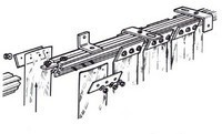 Product Installation Guides: Fixings allow installation behind or under lintel
