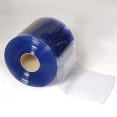 PVC strip rolls, hanging tracks, Pre-cut pvc strips