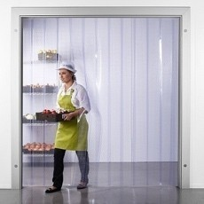 Great value ready made PVC Strip Curtains