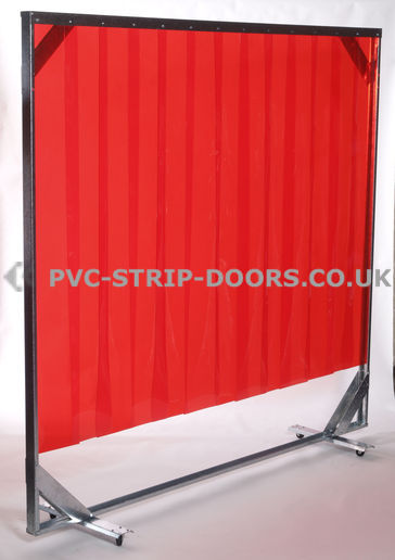 Red Mobile/Welding Screen