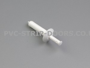 38mm Drive Rivets - White