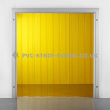 View Product 300x3mm Transparent Yellow PVC Strip Curtain