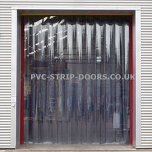 400x2.5mm Clear Plastic Curtains