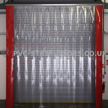 400x3mm Clear PVC Strip Curtain