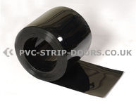 400x4mm Black Bulk PVC 50m Roll