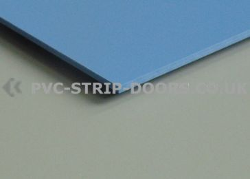 Blue Wall Cladding Sheet - Gloss Finish