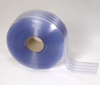 Ribbed Clear PVC Rolls