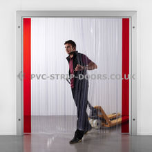 Chiller Spec Ribbed PVC Curtains 200 x 2mm