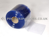 100x2mm Clear Bulk PVC 50m Roll