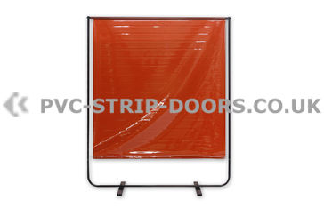 Welding Curtain With Frame (Defender 100 - 5ft x 6.3ft)