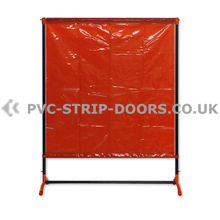 Welding Curtain With Frame – 4.8ft x 6.3ft