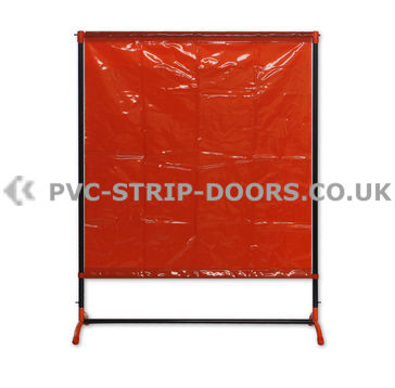 Welding Curtain With Frame (Defender 200 4.8ft x 6.3ft)