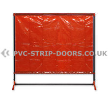 Welding Curtain With Frame – 6.7ft x 6.3ft