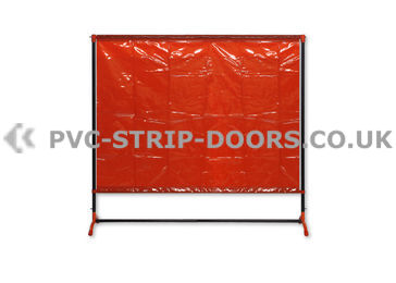 Welding Curtain With Frame (Defender 300 6.7ft x 6.3ft )