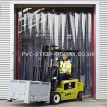 Heavy Duty Ready Made PVC Strip Curtains