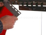 Hook-On Stainless Steel Track