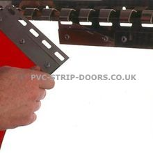 Stainless Steel Hook-On Hanging Rail System