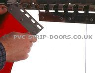 200mm Stainless Steel Hook-On Plates