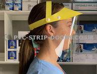 Yellow Face Visors - From £3.99 Each