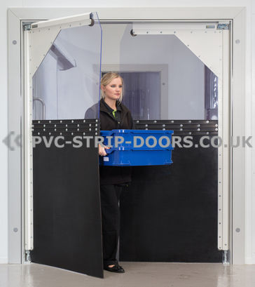 Impact Crash PVC Door – K550