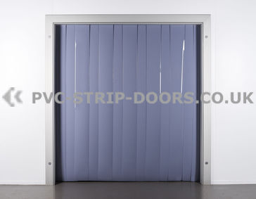 200x2mm Opaque Grey PVC Strip Curtain