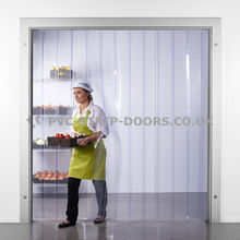 Light duty PVC strip curtains
