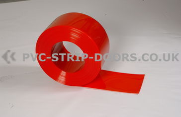300x2mm Red Bulk PVC Roll