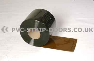 200x2mm Bronze Bulk PVC Roll