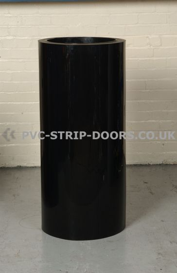1200mm wide black PVC sheet