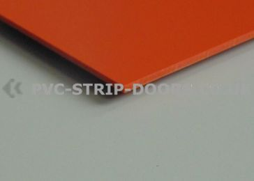 Orange Wall Cladding Sheet - Gloss Finish