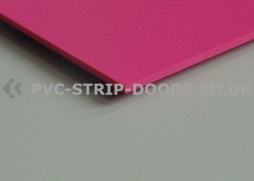 Pink Wall Cladding Sheet - Gloss Finish
