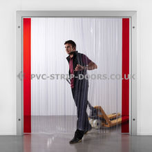 Ribbed PVC Strip Curtains