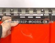 Red Replacement PVC Strips