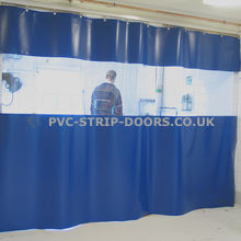 Static Workshop Divider / Dust Screens