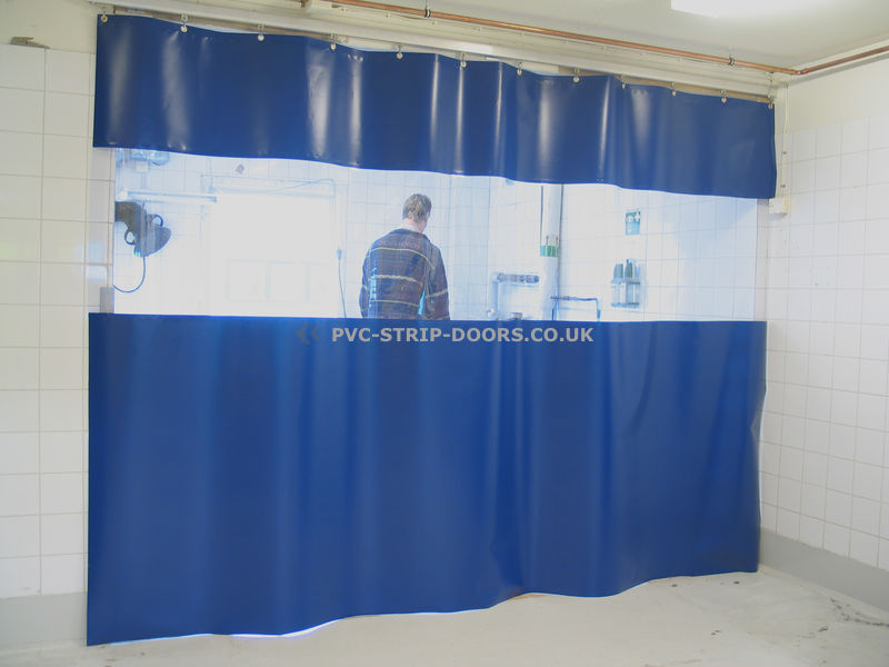 Static Workshop Divider Dust Screens