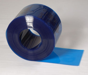 Transparent Blue PVC Rolls