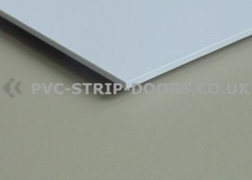 White Wall Cladding Sheet - Gloss Finish