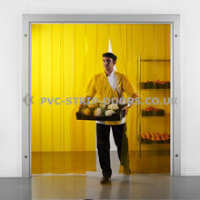 Yellow PVC Strip Curtains
